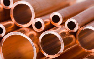 Copper Finishing on Pipes